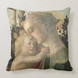Madonna y niño con St. John el Bautista, detai Cojin