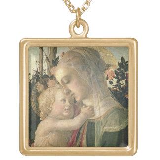 Madonna y niño con St. John el Bautista, detai Grímpola