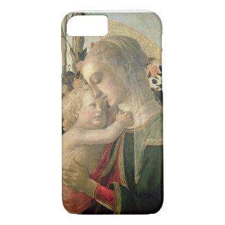 Madonna y niño con St. John el Bautista, detai Funda iPhone 7