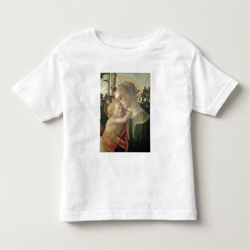 Madonna y niño con St. John el Bautista, detai Playera De Bebé