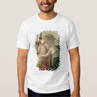 Madonna y niño con St. John el Bautista, detai Playeras