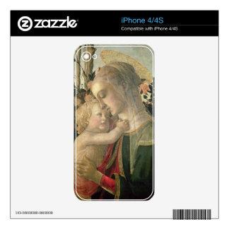 Madonna y niño con St. John el Bautista, detai Skin Para El iPhone 4