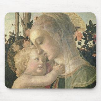 Madonna y niño con St. John el Bautista, detai Tapetes De Ratones