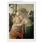 Madonna y niño con St. John el Bautista, detai Tarjeta