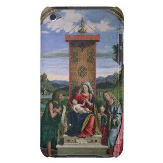 Madonna y niño con St. John el Bautista y el mA iPod Case-Mate Carcasas