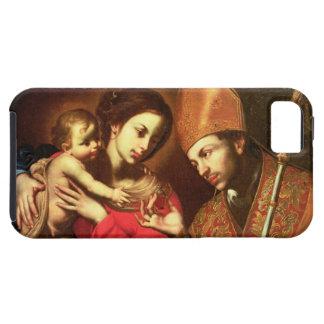 Madonna y niño con St. Zenobius iPhone 5 Fundas