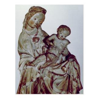 Madonna y niño, conocidos como el Krumauer Tarjetas Postales