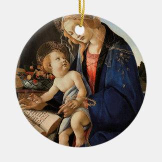 Madonna y niño ornamente de reyes