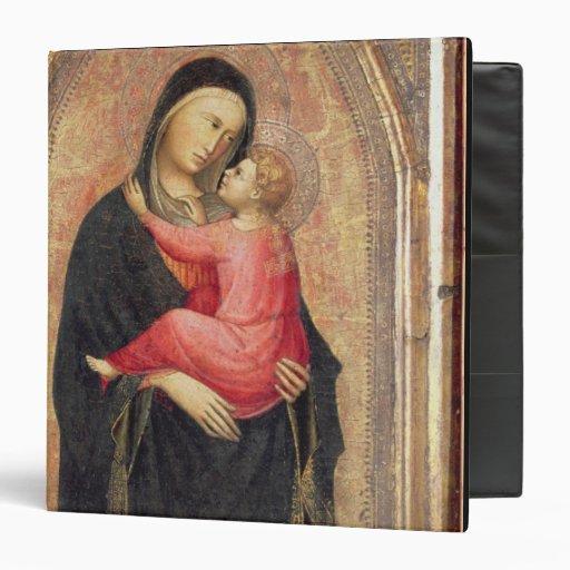 Madonna y niño (el panel) 3