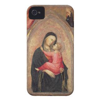 Madonna y niño (el panel) 3 Case-Mate iPhone 4 coberturas