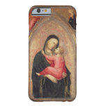 Madonna y niño (el panel) 3 funda de iPhone 6 barely there