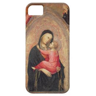Madonna y niño (el panel) 3 iPhone 5 fundas