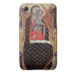 Madonna y niño enthroned con seis ángeles (el iPhone 3 cárcasa