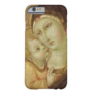 Madonna y niño funda barely there iPhone 6