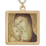 Madonna y niño grimpola personalizada