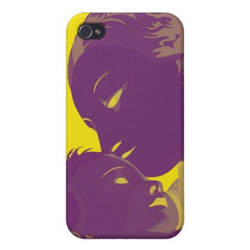Madonna y niño iPhone 4 carcasa