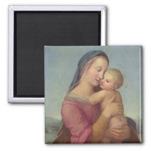 Madonna y niño (los tempos Madonna) por Raphael Imán Cuadrado
