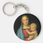 Madonna y niño, Madonna del Granduca por Raphael Llavero Redondo Tipo Pin