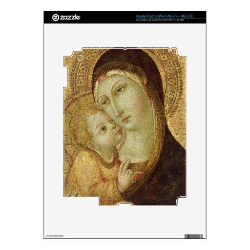 Madonna y niño pegatinas skins para iPad 3