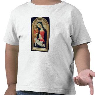 Madonna y niño camisetas