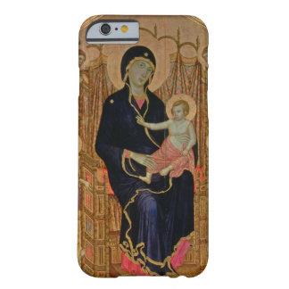 Madonna y niño (Rucellai Madonna) 1285 (tempera Funda De iPhone 6 Barely There