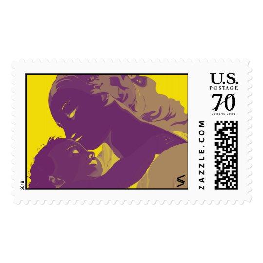 Madonna y niño sellos