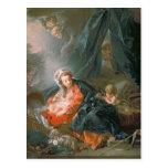Madonna y niño, siglo XVIII Postales