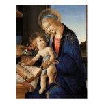 Madonna y niño tarjeta postal