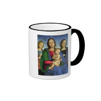 Madonna y niño tazas de café