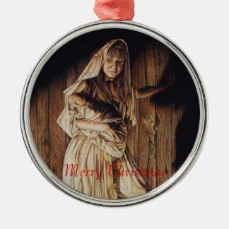 Madonna y ornamento de Cristo del niño Ornamentos Para Reyes Magos