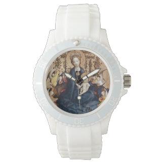 Madonna y reloj del niño