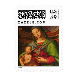 Madonna y sello del niño
