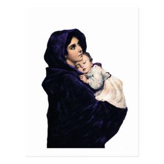 Madonnina Madonna of the Streets Postcard