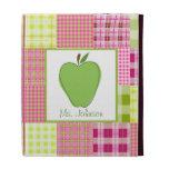 Madras Inspired Plaid iPad Folio For Teachers iPad Folio Covers