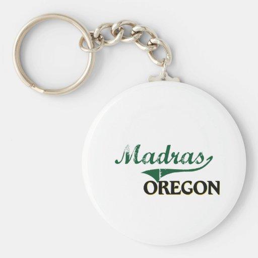 Madras Oregon Classic Design Key Chain