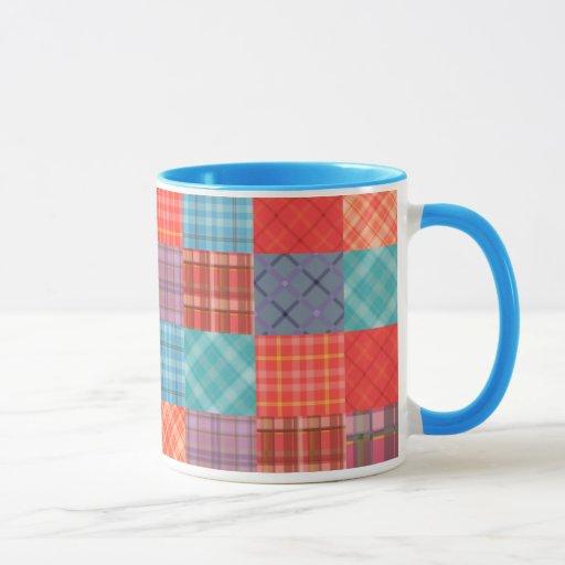 Madras Patchwork Mug