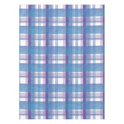 Beau Purple Plaid Clan Montgomery Tartan Tablecloth | Zazzle.com