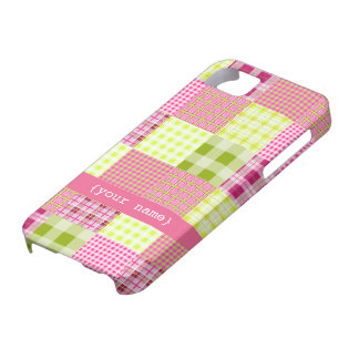 Madras Plaid iPhone 5 Case