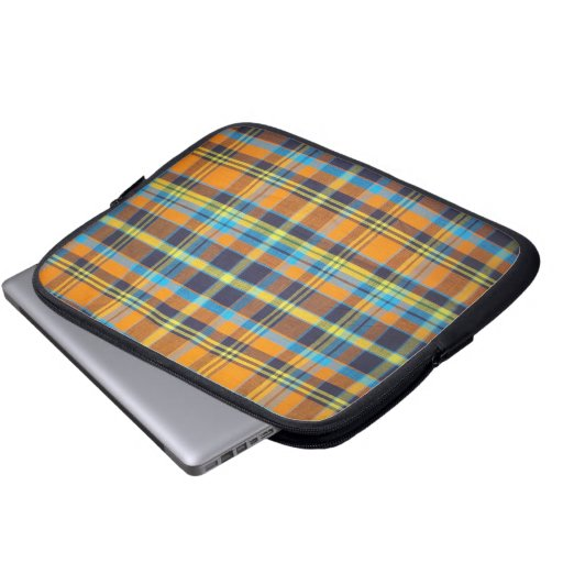 Madras/Plaid laptop bag Laptop Computer Sleeves