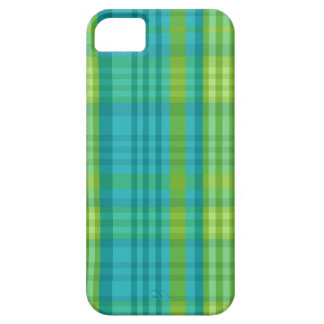 Madras Plaid Preppy School Girl Stylish Cell Phone iPhone 5 Case