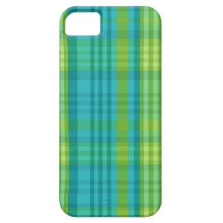 Madras Plaid Preppy School Girl Stylish Cell Phone iPhone SE/5/5s Case