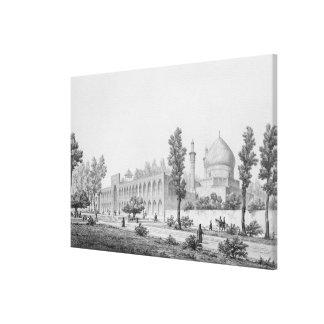 Madrasa-yi Masjid-i Shah Sultan Hussein, in Isfaha Canvas Print
