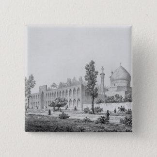 Madrasa-yi Masjid-i Shah Sultan Hussein, in Isfaha Pinback Button