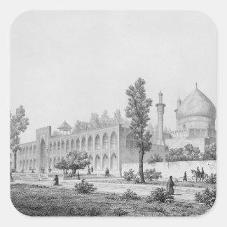 Madrasa-yi Masjid-i Shah Sultan Hussein, in Isfaha Square Sticker