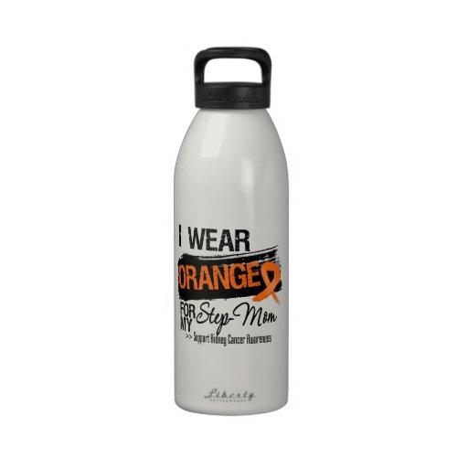 Madrastra de la cinta del cáncer del riñón botellas de agua reutilizables