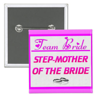 Madrastra de la novia del equipo pins