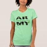 Madrastra del ejército camiseta