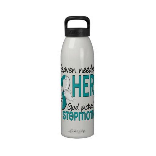 Madrastra necesaria del cáncer de cuello del útero botella de agua