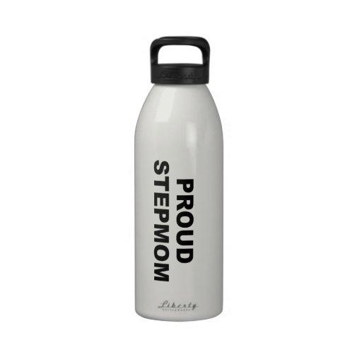 Madrastra orgullosa botella de agua