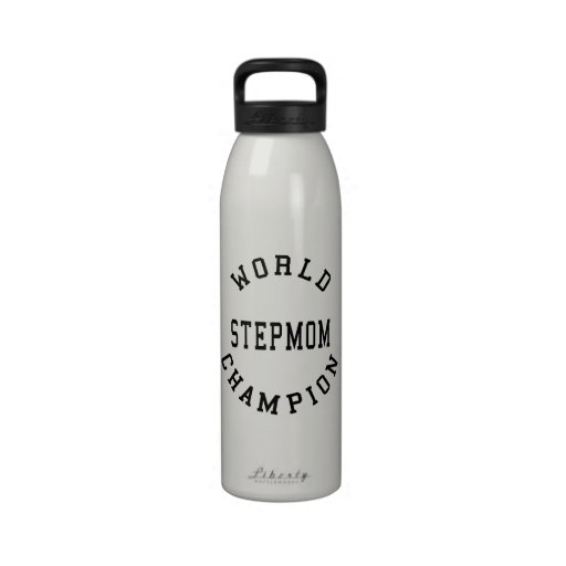 Madrastra retra fresca del campeón del mundo botellas de agua reutilizables